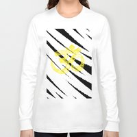 om Long Sleeve T-shirts featuring OM by Rebecca Bear