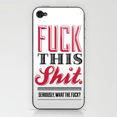 Eff This Ess iPhone & iPod Skin