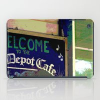 cafe iPad Cases featuring Cafe by Glenn Designs