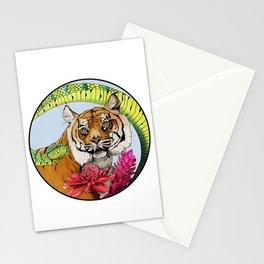 Sumatran Circle Stationery Cards
