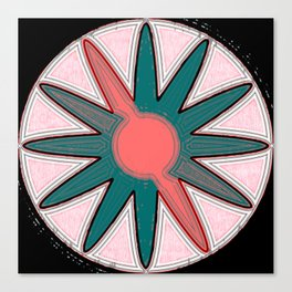 pastel star Canvas Print