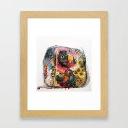 Stone dance Framed Art Print
