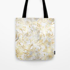 Elegant Gold swirls Tote Bag