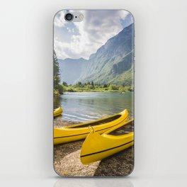 Bohinj lake, Slovenia iPhone Skin