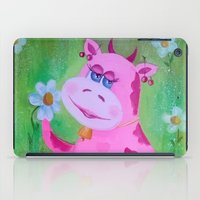 cow iPad Cases featuring Cow by OLHADARCHUK