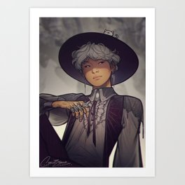 Witch Yoongi Art Print