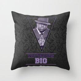 *Notorious BiG* Throw Pillow