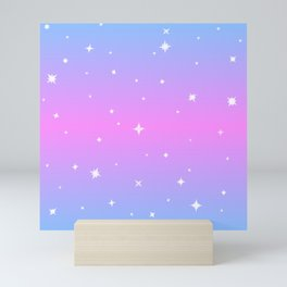 Magical Girl Stars Mini Art Print