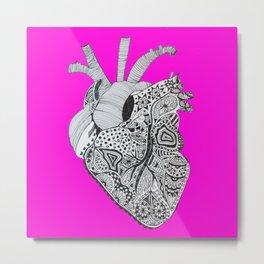 the brave heart (by Anjuri) Metal Print