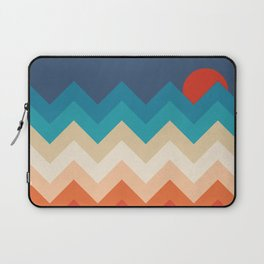 Vintage 70s Adventure on the Mountains Laptop Sleeve