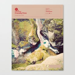 The Visual Mixtape 2010 | Friendly Fires | 14 / 25 Canvas Print