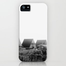 A-Frames (Grayscale) iPhone Case
