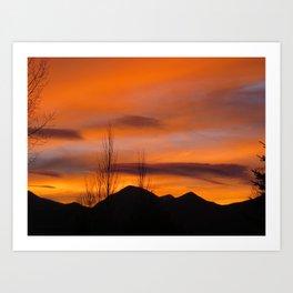 Sunset Buena Vista Art Print
