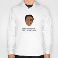 inception Hoodies featuring I Didn't Get Inception! by She's That Wallflower