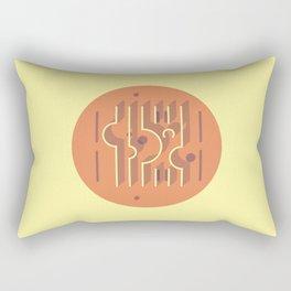 Sonsbeek Pavilion - Aldo Van Eyck Rectangular Pillow