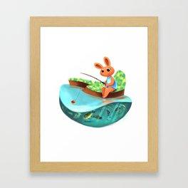 Fishing Jamboree Framed Art Print