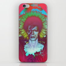 Tribute to Bowie iPhone & iPod Skin