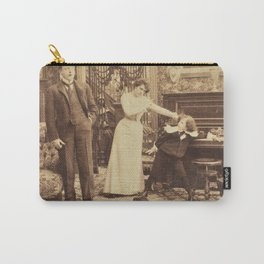 Victorian Stereogram Carry-All Pouch