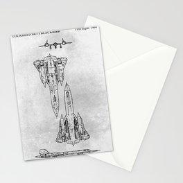 LOCKHEED SR-71 BLACKBIRD Stationery Cards