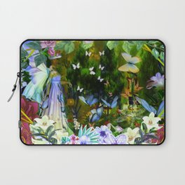 She Who Walks With Butterflies Laptop Sleeve