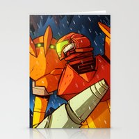 metroid Stationery Cards featuring Samus (Metroid) by Peerro