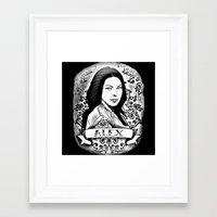 alex vause Framed Art Prints featuring Alex Vause by SwanniePhotoArt