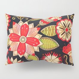 Blooms Butterflies and Ladybugs Pillow Sham