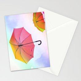 umbrella 3 Stationery Cards