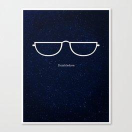 Half Moon Specs Canvas Print
