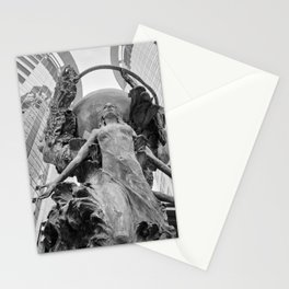 Downtown Statues Stationery Cards