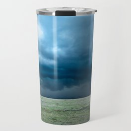 Regeneration - Storm Strengthens With Amazing Color in Texas Travel Mug