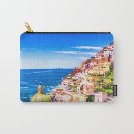 Colorful Positano Italy Carry-All Pouch