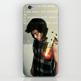 Souls made of flames iPhone Skin