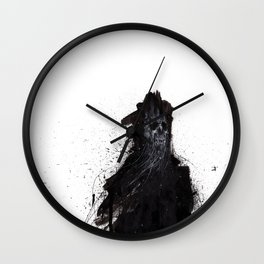 Guardian Of The Treacherous Shoals Wall Clock