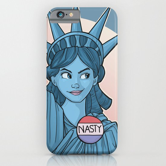 Nasty Lady Liberty Phone Case | Feminist Gift Guide