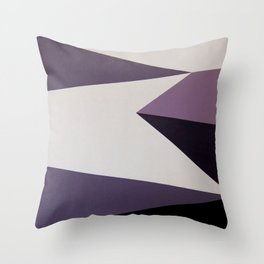 Dazzle Ship Camouflage Graphic Design (Detail) Throw Pillow