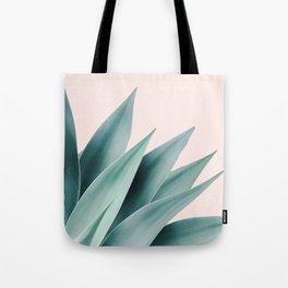 Agave flare II - peach Tote Bag