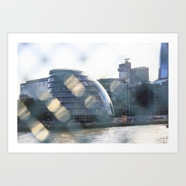 Amazing London skyline Art Print