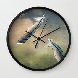 Earth Bound Wall Clock