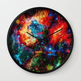 Everything is nothing 14 (therefore it was beautiful) Wall Clock