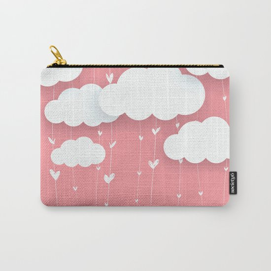 Raining Love Carry-All Pouch