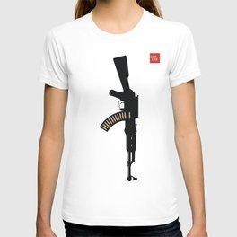 Art Not War - Yellow T-shirt