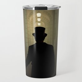 Evening walk in the old town Travel Mug