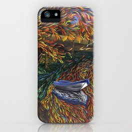 Sailing on perceptions iPhone Case