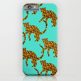 Jungle Cats iPhone Case