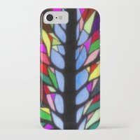stained glass iPhone & iPod Cases featuring Stained Glass by Sartoris ART