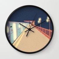 infinity Wall Clocks featuring Infinity by Fernanda Schallen