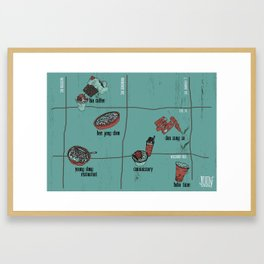 K-Town 1 Framed Art Print
