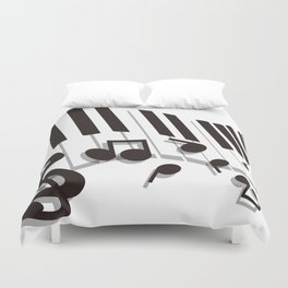 Flabby_Expression Duvet Cover