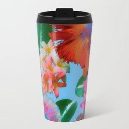 Hawaiian Print III Travel Mug